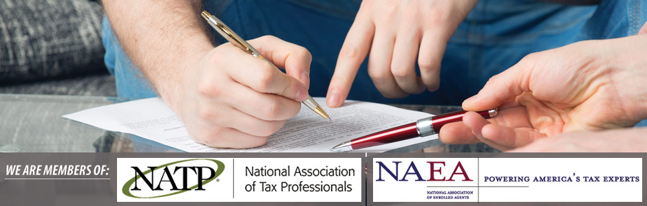 members of the National Association of Tax Practitioners and the National Association of Enrolled Agents
